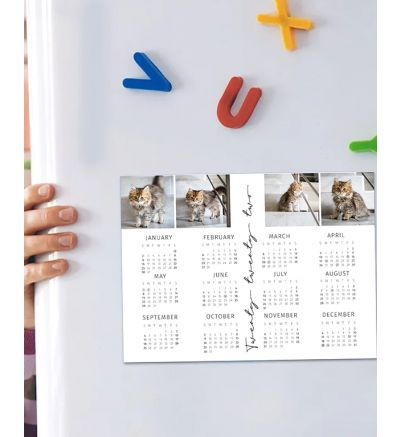 6 x 8 Inch Magnet Calendar - 2022