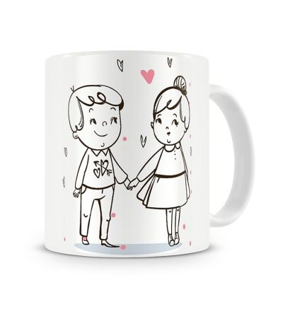Message Mugs In Love Boy Meets Girl
