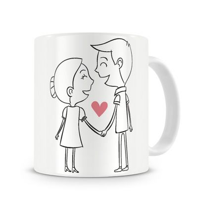 Message Mugs In Love Celebrating Each Other