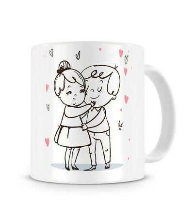 Message Mugs In Love Hug