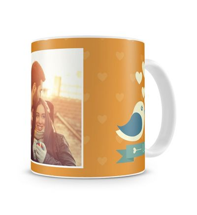 Message Mugs Love Birds