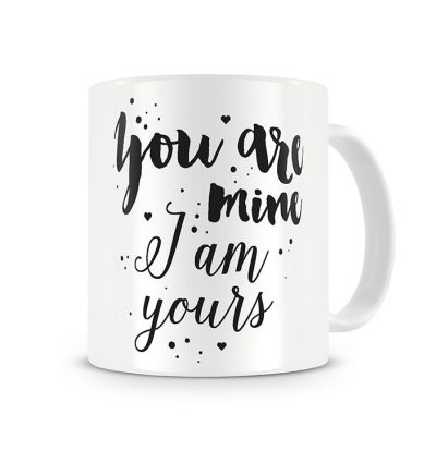 Message Mugs Yours And Mine