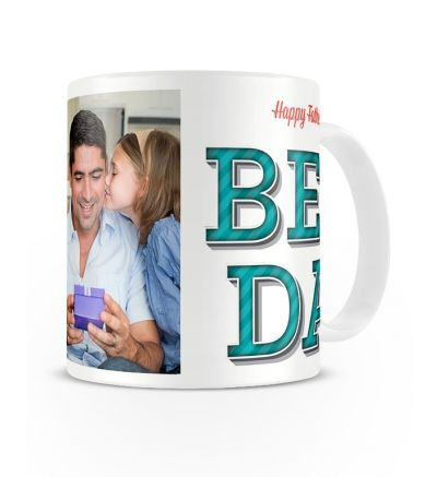 Metallic Mugs Best Dad Ever