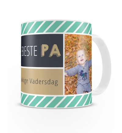 Metallic Mugs Beste Pappa