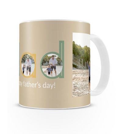 Metallic Mugs Fathersday Dad