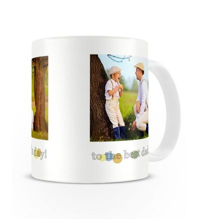 Metallic Mugs Fathersday Dots
