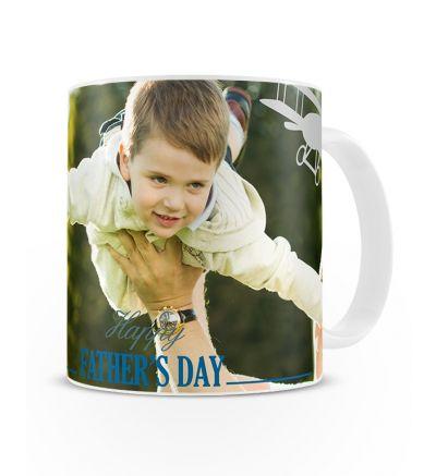 Metallic Mugs Fathersday Planes