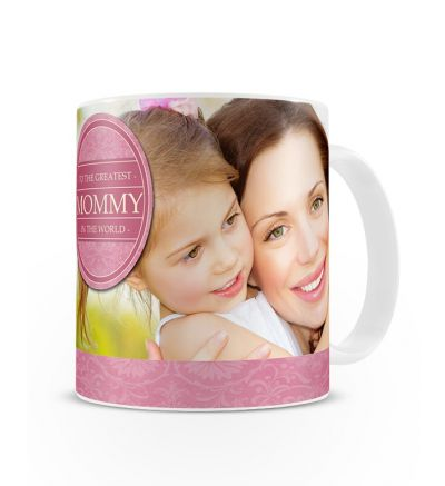 Metallic Mugs Greatest Mommy