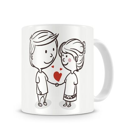 Metallic Mugs In Love Celebrating Love