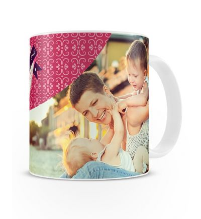 Metallic Mugs Mothersday Pink and Purple