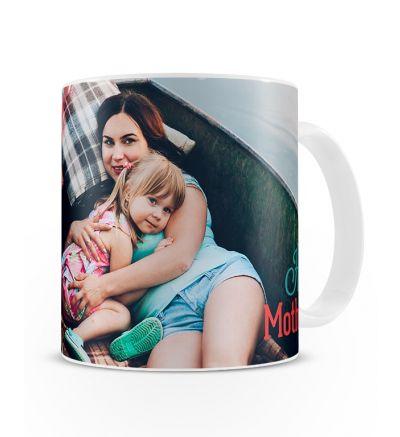 Metallic Mugs Mothersday Ribbon