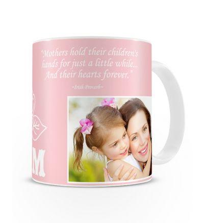 Metallic Mugs Mothersday Rose