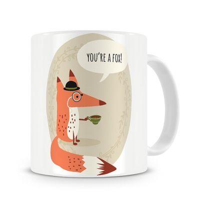Metallic Mugs You are A Fox