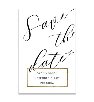 Magnets - Save The Date - Elegant - P