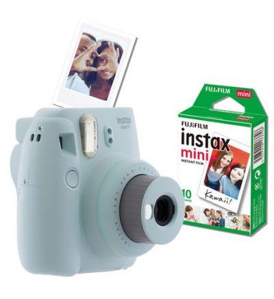 Fujifilm Instax Mini 9 Value Bundle - Icy Blue