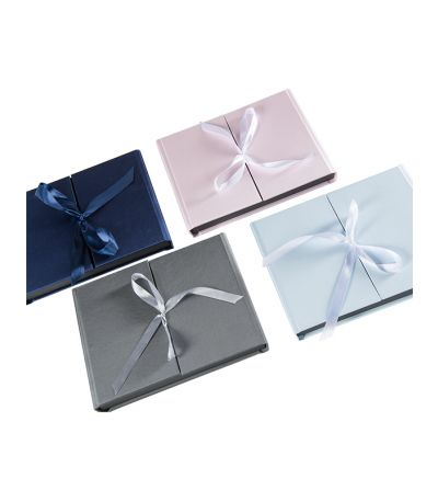 Crushed Silk Bow Tie Boxes