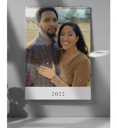 Calendar 6 page - Modern White 2022