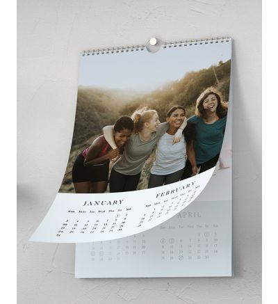 Calendar 6 page - Modern White 2021