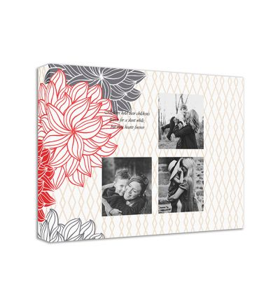 Moms Flowers Canvas Print And Stretch Rectangle