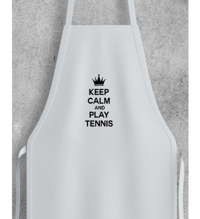 Novelty Adult Apron Tennis
