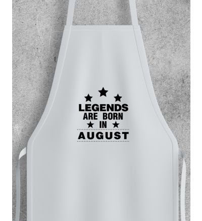 Novelty Adult Apron August