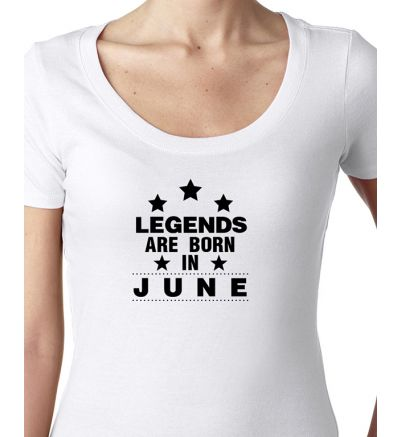 Novelty Ladies T-Shirts June