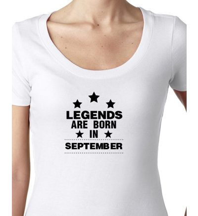 Novelty Ladies T-Shirts September
