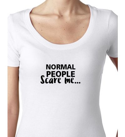 Novelty Ladies T-Shirts Normal