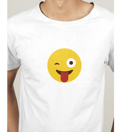 Novelty Mens T Shirts Wink