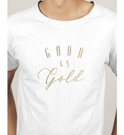 Novelty Mens T Shirts Gold