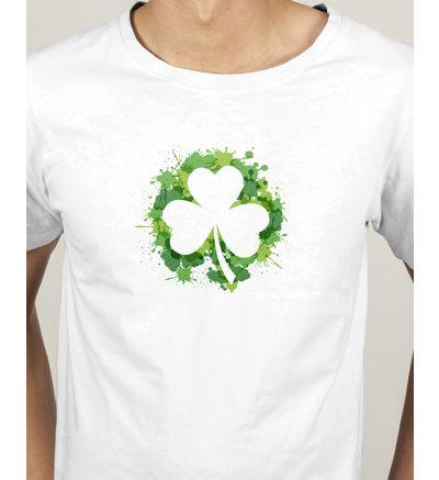 Novelty Mens T Shirts Clover