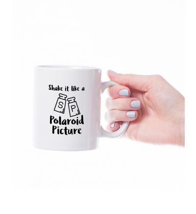 Novelty Mug  Polaroid
