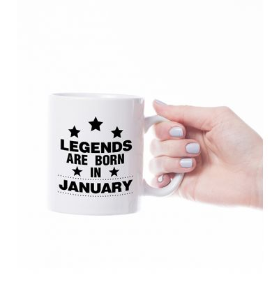 Novelty Mug  January