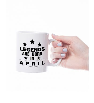 Novelty Mug  April