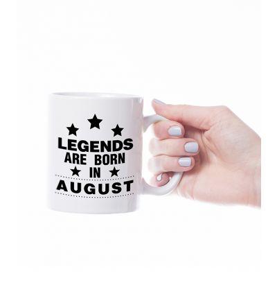 Novelty Mug  August