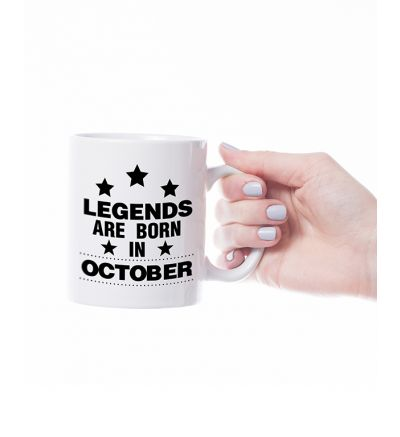 Novelty Mug  October