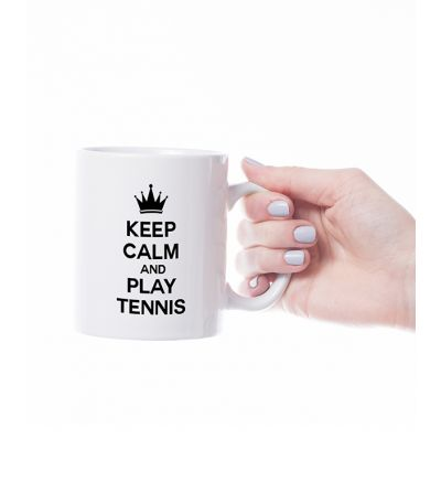 Novelty Mug Tennis