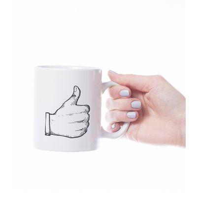 Novelty Mug  Thumbs Up