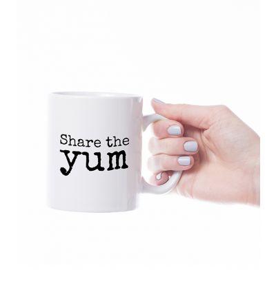Novelty Mug  Yum