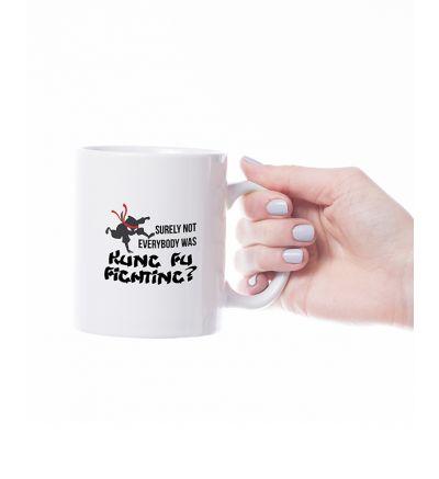 Novelty Mug  Kung Fu Fighting