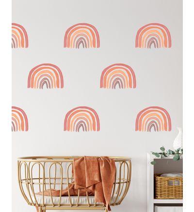 Orange Rainbow Pattern