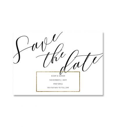 Printed Cards - A5 Elegant - Set Of 4