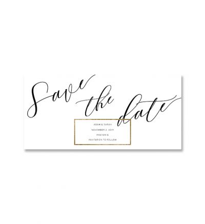 Printed Cards - DL Elegant - Set of 6