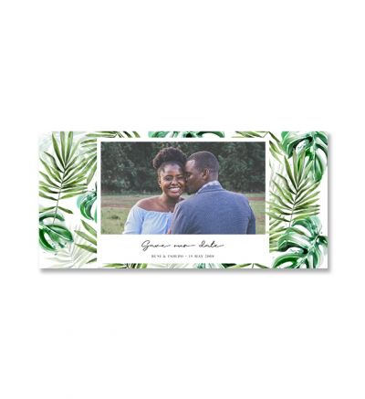 Printed Cards - DL Tropical - Set of 6