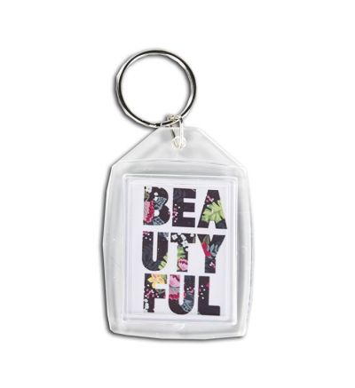 Plastic Key Ring