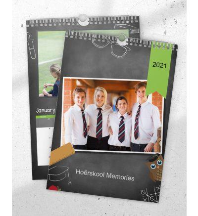 Portrait Calendar School
