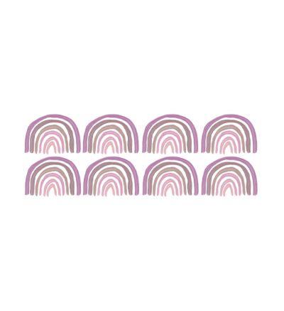 Purple Rainbow Pattern
