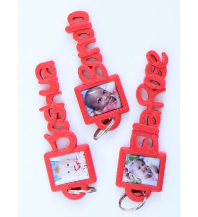 Personalised Name Tag Red