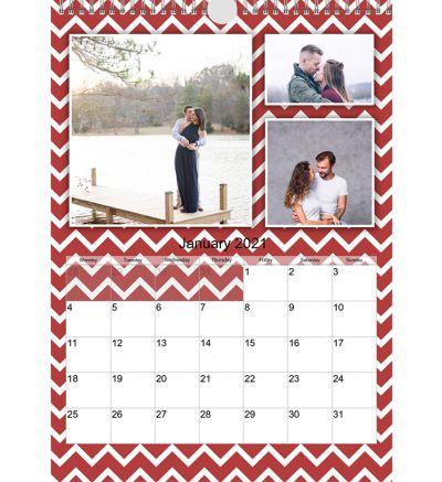 Portrait Calendar Sea Side