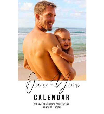 Portrait Calendar Simple